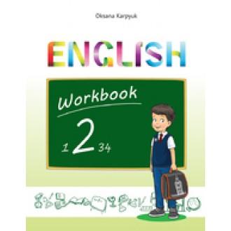 Карпюк 2 клас Робочий зошит для 2 класу English 2 (поглибл. вивчення)
