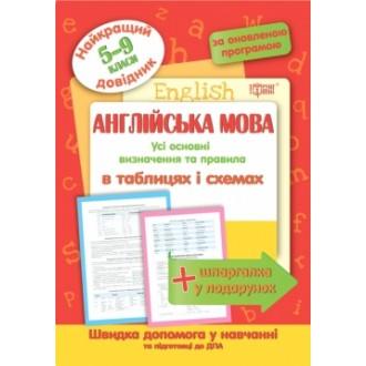Англійська мова в таблицях та схемах 5-9 класи Найкращий довідник