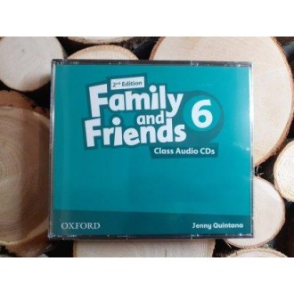 Family & Friends 6 Class Audio CD 2Е
