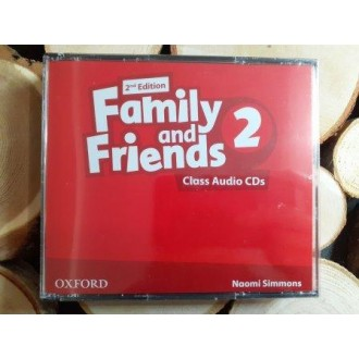 Family & Friends 2 Class Audio CD 2E