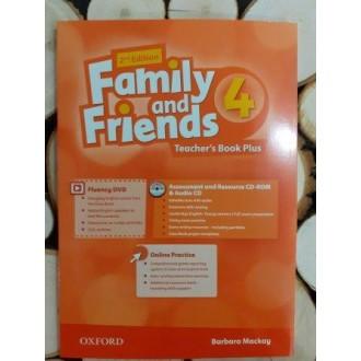 Family & Friends 4 Teacher's Book Plus Pack 2E