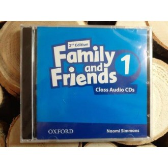 Family & Friends 1 Class Audio CD 2Е
