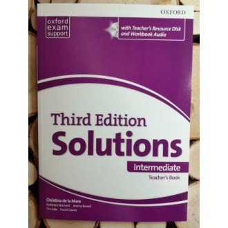 Solutions Intermediate Teacher's Book and CD-ROM 3rd edition