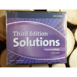 Solutions Intermediate Class Audio CDs (4 Discs) 3rd edition