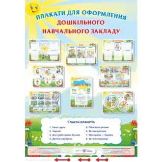 Плакаты для оформления детского сада
