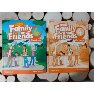 Family and Friends 4 комплект