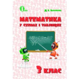 Математика у схемах і таблицях 3 клас