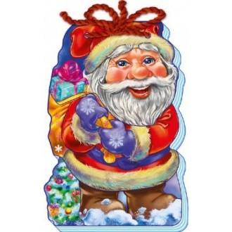 Мягкий новый год Дед Мороз