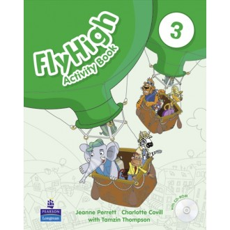 Fly High 3 Activity Book with CD-ROM
