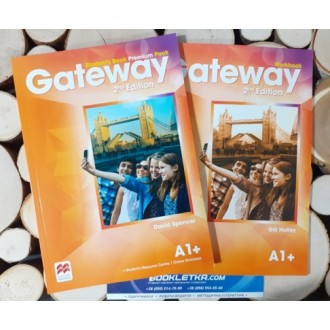 Gateway A1+ 2nd Edition Комплект STUDENT'S BOOK + WORKBOOK