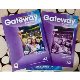 Gateway A2 2nd Edition Комплект STUDENT'S BOOK + WORKBOOK