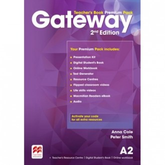 Gateway A2 2nd Edition Teacher's Book Premium Pack