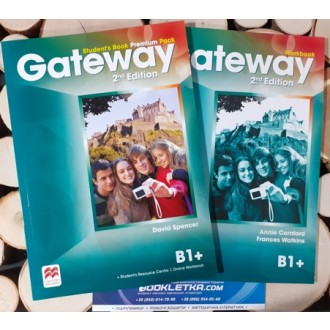Gateway B1+ 2nd Edition Комплект STUDENT'S BOOK + WORKBOOK