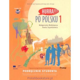 Hurra Po Polsku 1 Podręcznik studenta + CD Підручник