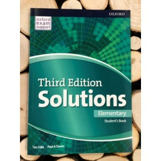 Solutions Elementary Student Book 3rd ed