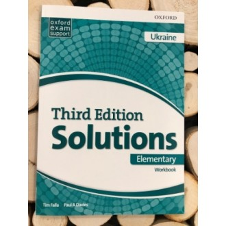 Solutions Elementary Workbook and Audio Pack (UA) 3rd edition