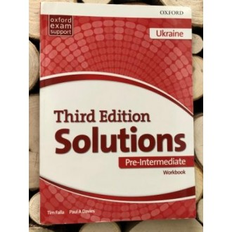 Solutions Pre-Intermediate Workbook and Audio Pack (UA) 3rd edition