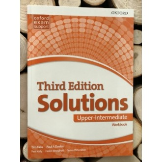 Solutions Upper-Intermediate Workbook and Audio Pack (UA) 3rd edition