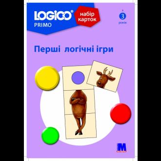 Logico Primo Набір карток Перші логічні ігри 3+ (16 карток)