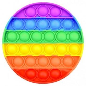 POP IT Іграшка-антистрес Simple Dimple (брелок, коло)