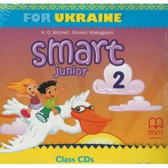 Smart Junior for UKRAINE НУШ 2 Class Audio CD НУШ