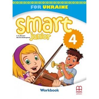 SMART JUNIOR FOR UKRAINE 4 WORKBOOK+ CD