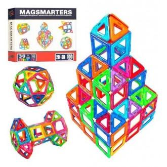 Магнитный конструктор 30 деталей