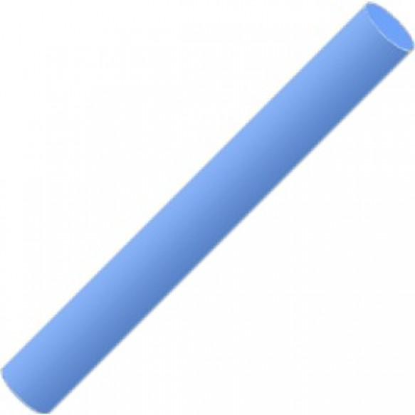 Полимерная глина голубая флуоресцентная 17 г