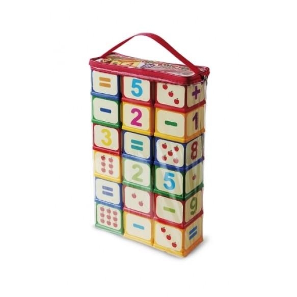 Арифметика Кубики з елементами кріплення