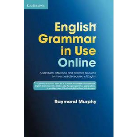 English Grammar in Use  Online Access Code and Book with Answers Pack