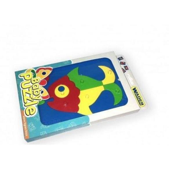 Пазл-вкладыш Рыбка