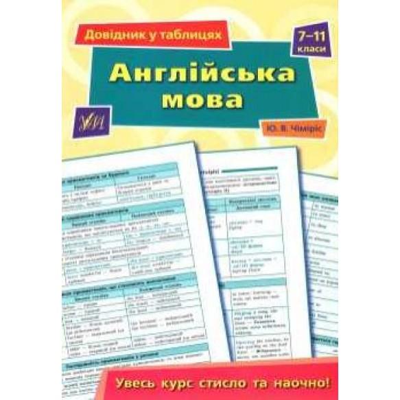 Английский язык справочник в таблицах 7-11 классы