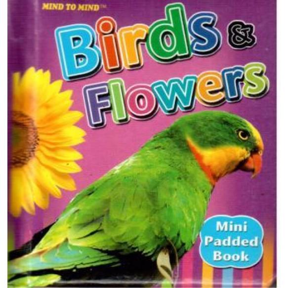 Книжка-словник Птахи Квіти