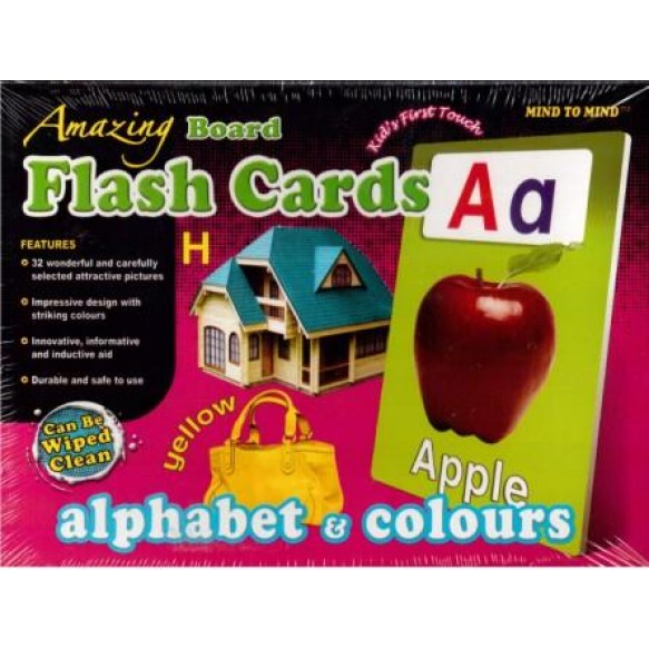 Flash cards Alphabet&colours