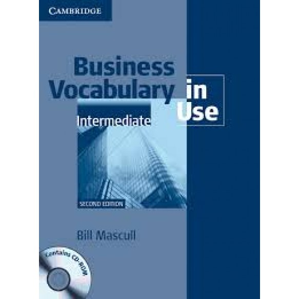 Business Vocabulary in Use  Intermediate 2nd Edition Book with answers and CD-ROM