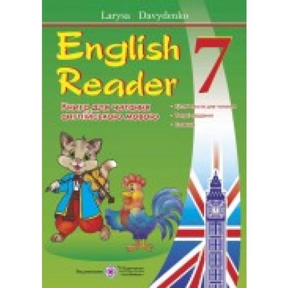 Книга для чтения английский язык 7 класс English Reader автора Л.Давиденко