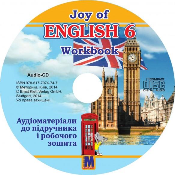 Т Пахомова Joy of English 6 Аудиоматериалы для учебника и рабочей тетради для 6-го класса ОУЗ 2 й год учеб 2  иностр язык  с 2 аудио CD