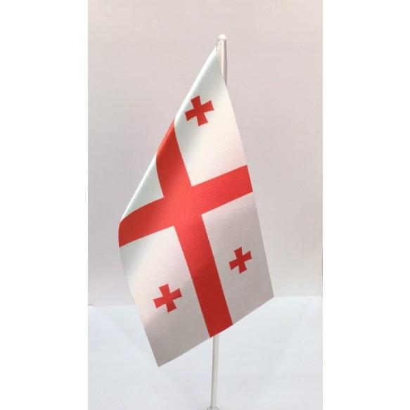 Прапор Грузія 10*20 (без підставки)