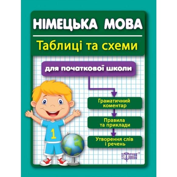Таблиці та схеми Німецька мова для початкових школи