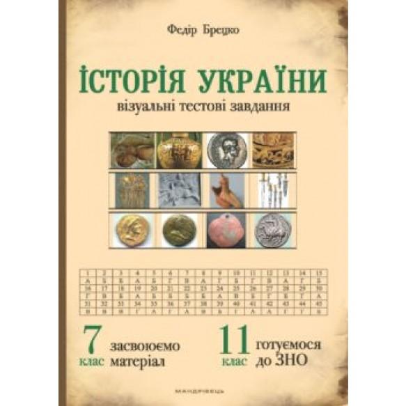 История Украины 7 класс Визуальные тестовые задания