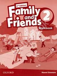 Family & Friends 2 Workbook for Ukraine 2nd edition