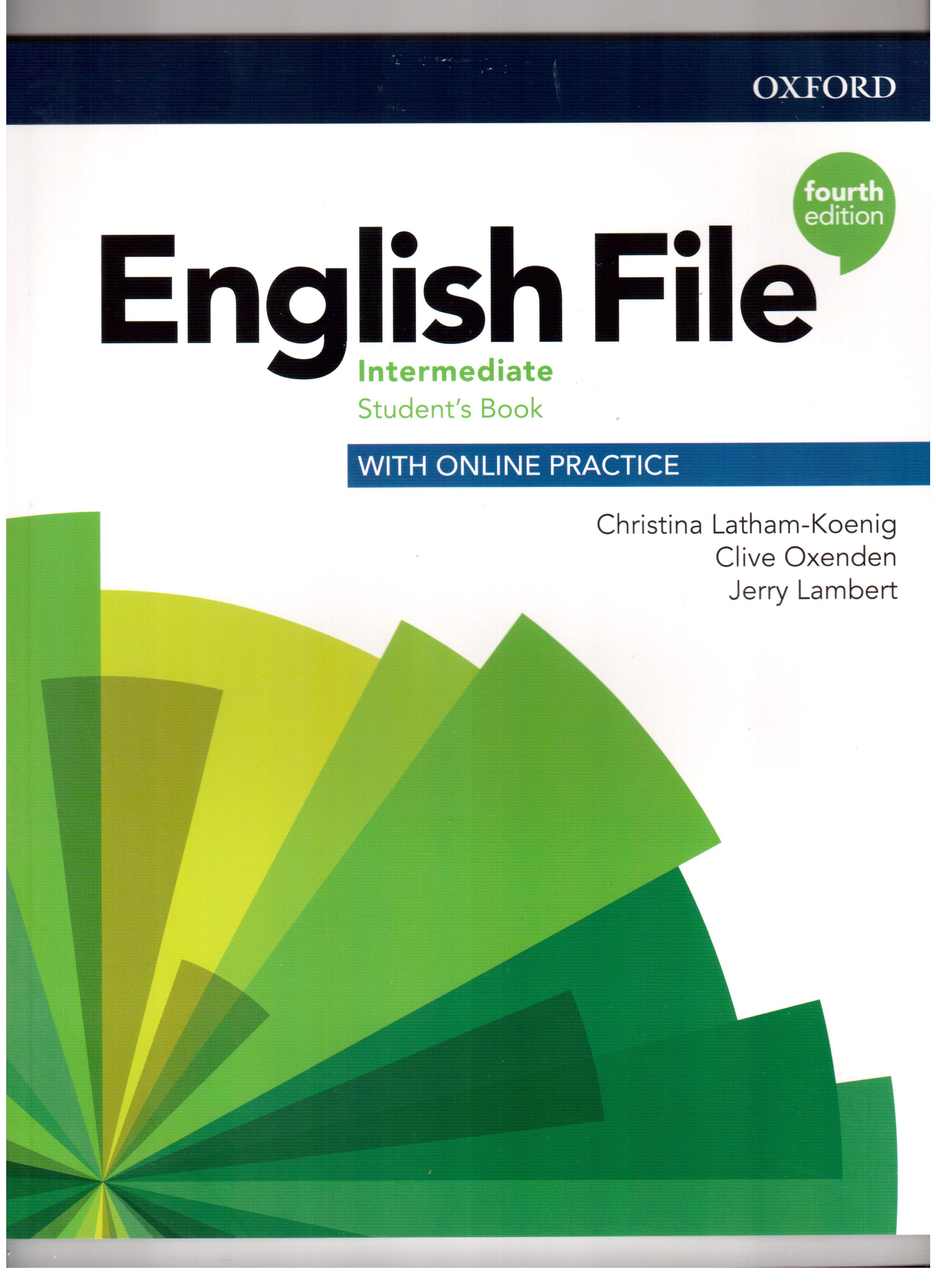 English File 4th Edition Intermediate Student's Book with Online Practice