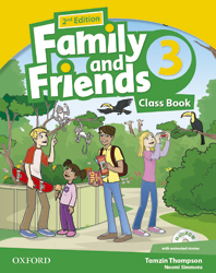 Family and Friends 3.Class Book and MultiROM Pack. Second edition