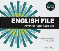 English File Advanced third edition Class Audio CDs